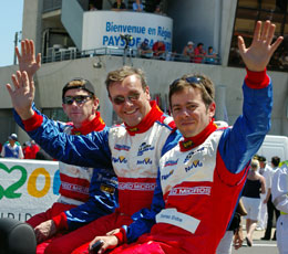 Warren, Mike & Tommy, Le mans 2005