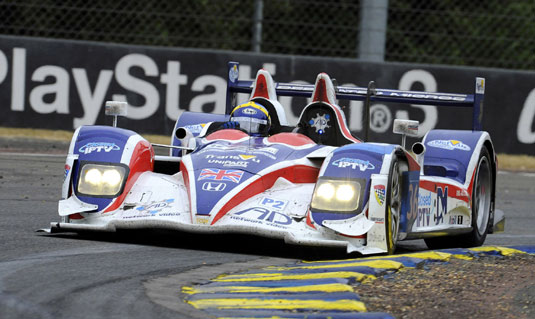 Tommy Erdos, RML AD Group HPD at Le Mans, 2011