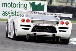 Thomas Erdos, British GT Champion 2002
