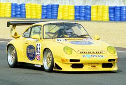 Thomas Erdos, MacQuillan Motorsport Porsche, Le Mans 1998