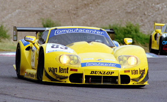 Thomas Erdos, British GT, 1996