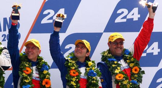 Thomas Erdos, Le Mans Podium